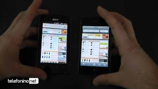 Acer Liquid Metal Vs iPhone4 da Telefonino.net