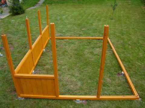 Serre bois youtube for Monter une serre de jardin