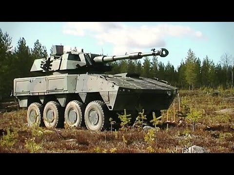 Patria - AMV 8X8 Armoured Modular Vehicle [480p]