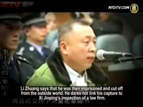 Xi Jinping Fights Back Against Lawyer Li Zhuang's Arrest