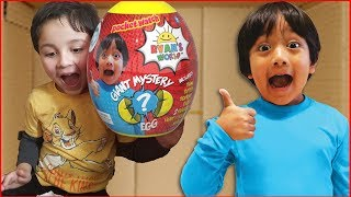 I Mailed Myself to Ryan ToysReview for the New Mini Mystery Egg and it worked!! Skit