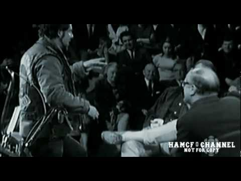 HELLS ANGEL Skip Workman confronts Hunter S Thompson
