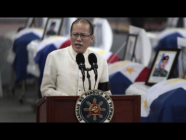 عزای عمومی در فیلیپین به یاد ۴۴ قربانی مبارزه با تروریسم