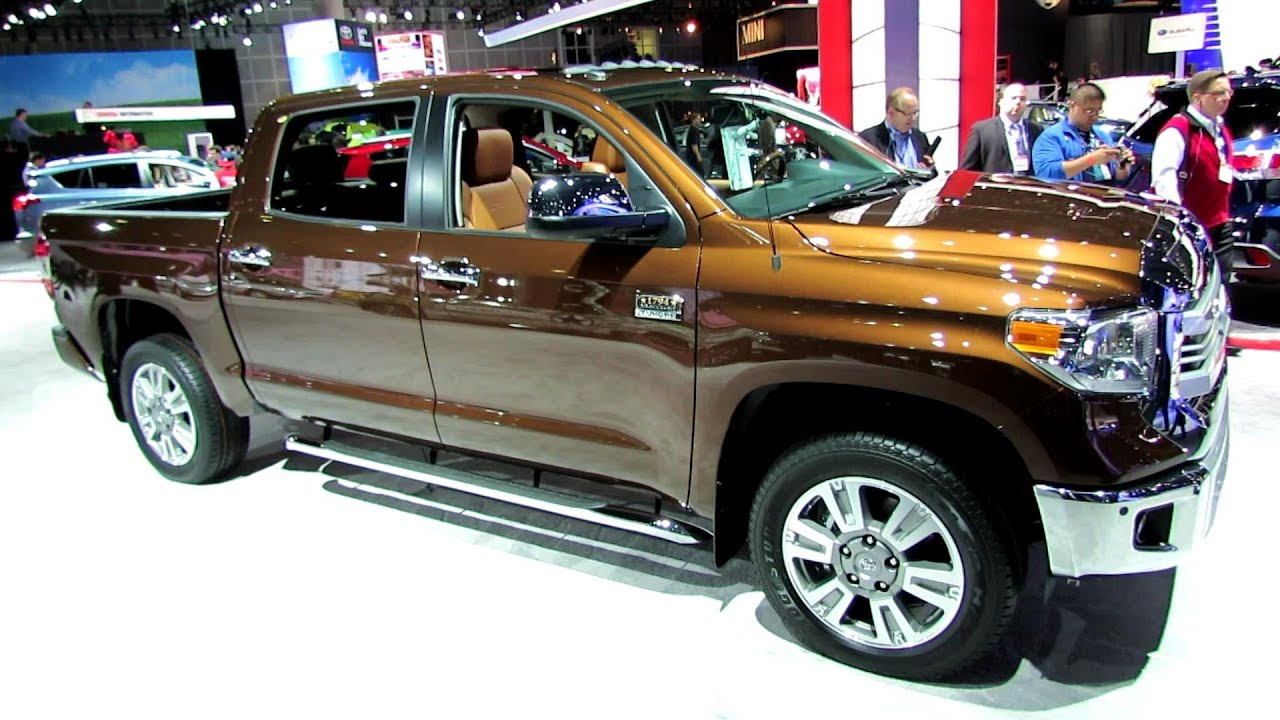 2014 Toyota Tundra 1794 Edition Exterior And Interior