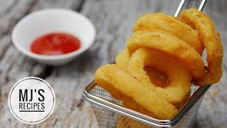 CRISPY ONION RINGS - Quick and easy!