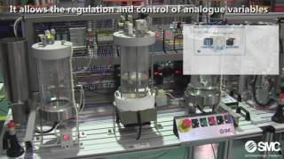 IPC 200 Training system – Industrial process control (with lithuanian substitles )