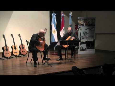 BOCACCIO - GALLINO EN EL 2º CERTAMEN INTERNACIONAL DE GUITARRA MARIA LUISA ANIDO