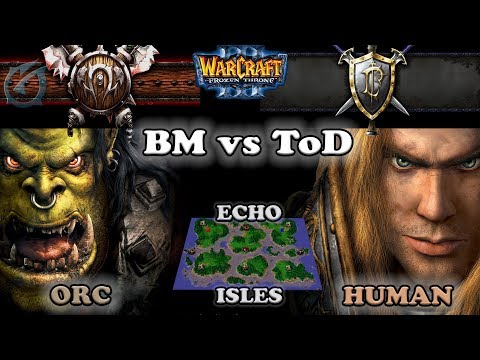 Grubby | Warcraft 3 The Frozen Throne | OR v HU- BM vs ToD - Echo Isles