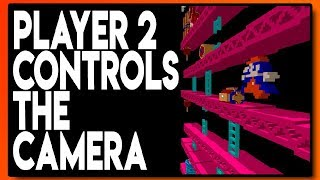 3D NES : Player 2 Controls the Camera! - Blue Television Games