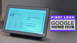 Google Home Hub first look