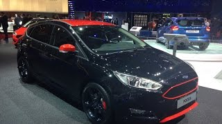Ford Focus Red and Black Edition | 2015 Geneva Motor Show