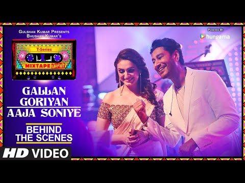 T-Series Mixtape Punjabi: Making of Gallan Goriyan/Aaja Soniye | Harbhajan Mann | Akriti Kakar