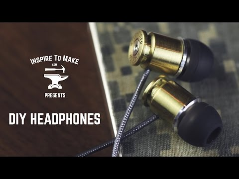 DIY Headphones - The most satisfying video in the world
