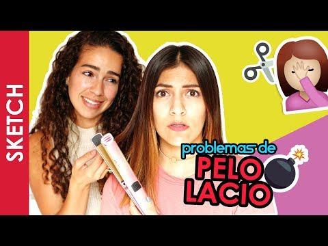 PROBLEMAS QUE SOLO LAS DE PELO LACIO ENTIENDEN - Katia Nabil y Vale Chavero