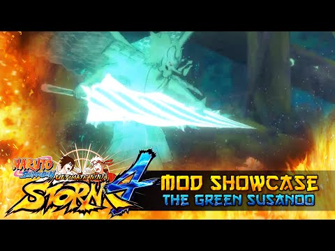 Shisui the Green Susanoo!!! Naruto Shippuden Ultimate Ninja Storm 4 Mods w/ ShinoBeenTrill thumbnail