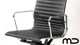 (1.52 MB) Management Office Chair Eames Reproduction Black from Milan Direct Australia Mp3