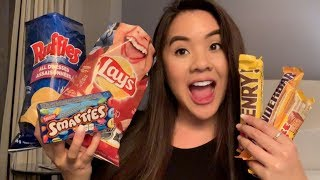 TASTE TEST: Canadian Candy &Chips | Jerlyn Phan