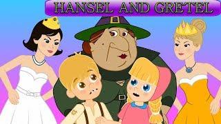 Hansel ve Gretel - 12 Dans Eden Prenses Masalları | Adisebaba Masal