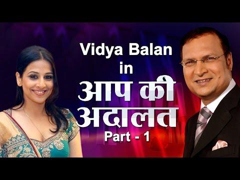 Vidya Balan In Aap Ki Adalat Part 1