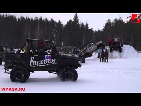 Гонки 23 февраля УАЗ / Race February 23 UAZ