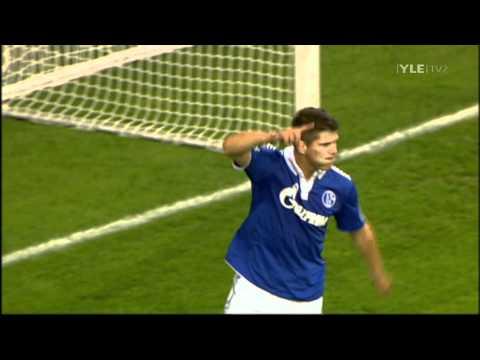 Klaas-Jan Huntelaar 4 goals against HJK Helsinki // UEFA Europa League (25/8/11)
