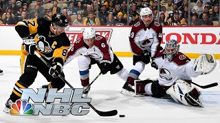 Colorado Avalanche vs. Pittsburgh Penguins | CONDENSED GAME | 10/16/19 | NBC Sports