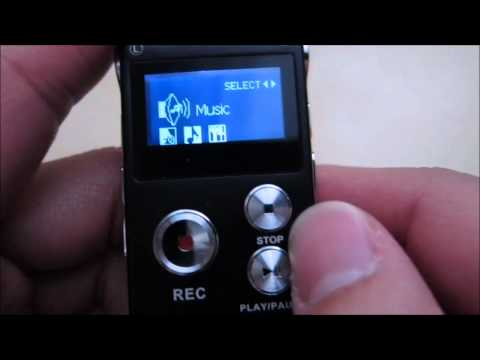 iGearPro 8GB Digital Audio Voice Recorder & Mp3 Player Review