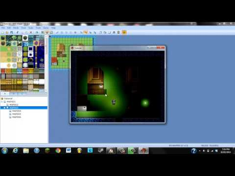 RPG Maker VX Ace Khas Awesome Light Effects Tutorial (Part 2)