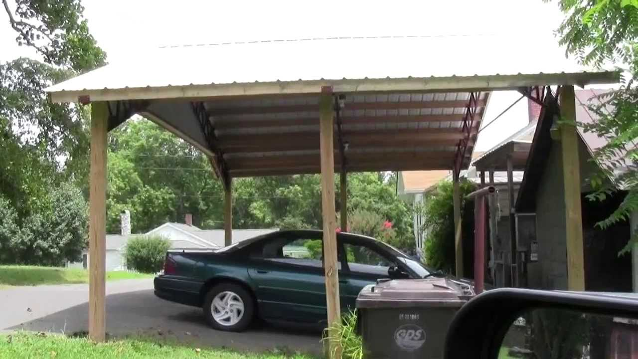 STEEL TRUSSES Carport And Barn Kits YouTube