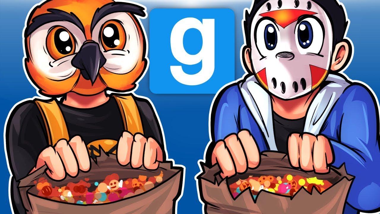 Gmod Ep. 64 HIDE & SEEK! - HALLOWEEN EDITION! (Garry's Mod Funny Moments)