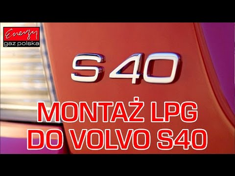 Volvo S40 - instalacja gazowa STAG 300-4