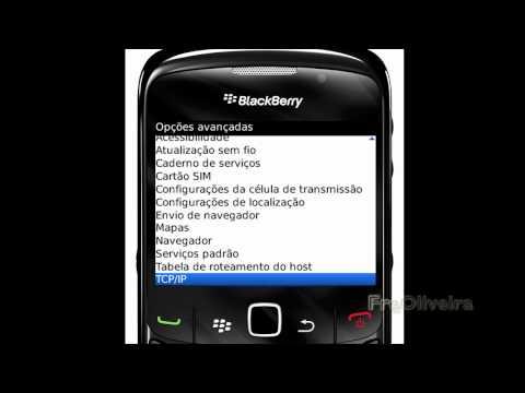 Configurando APN BlackBerry Claro Brasil