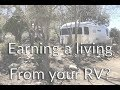 Earning a living from your RV - Full Time Airstream Life E-36