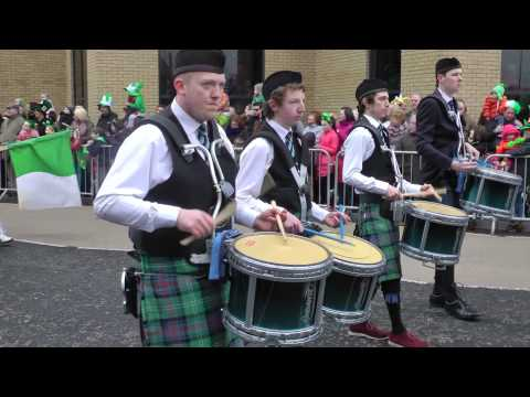 St Patrick's Day in Derry 2013