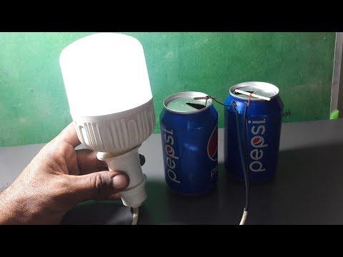 How to Make Free Energy LED 13W Light Bulb With Lemons thumbnail