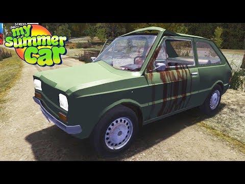 SPOWODOWAŁEM WYPADEK Z FIATEM! My Summer Car #04