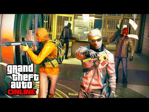 GTA 5 Heist - NEW Confirmed Heist Images - Flare Gun, Thermite Bomb, Vehicles (GTA 5 Online)
