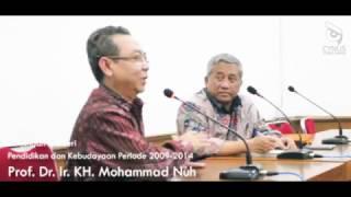 Dialog Prof. Dr. Ir. KH. Mohammad Nuh Bersama Rektor Universitas Islam Nusantara