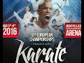 Finals European Karate Championships - Morning session Sunday 8th May