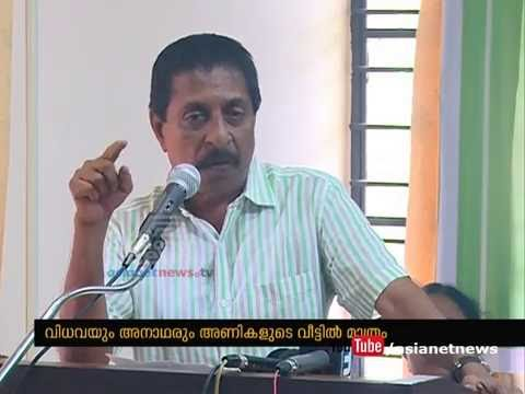 Sreenivasan speaks against the political violence