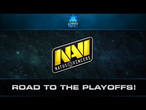 Dota 2 Road To The Playoffs - Na'Vi (XMG Captains Draft 2.0)