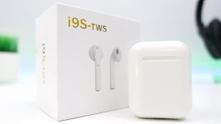 TWS-i9s: Unboxing & Review [Fake $40 AirPods]