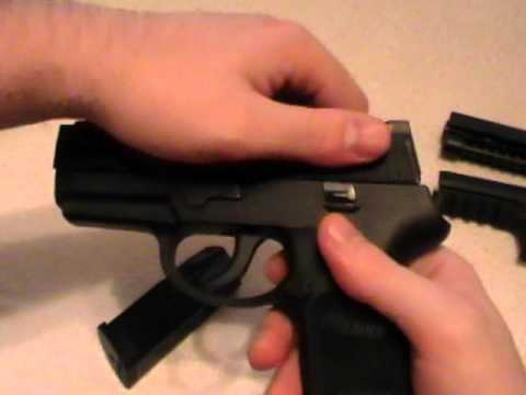 Sig Sauer P250 Caliber X-Change Demonstration