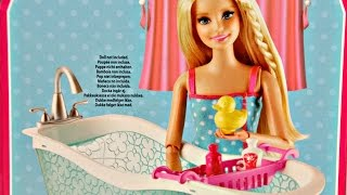 Barbie My Style House Bathtub / Barbie Wanna z Akcesoriami - CFG65 CFG69 - Recenzja