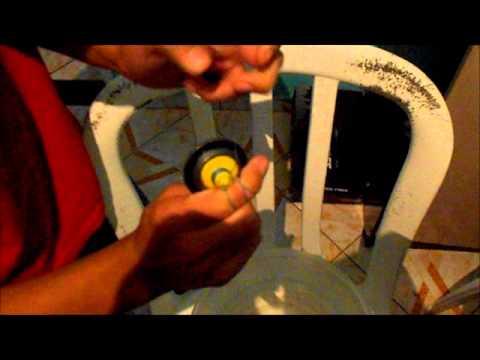 como fazer: uma beyblade caseira de ferro