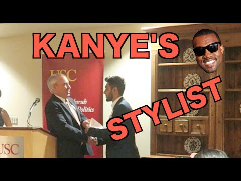 TALKING TO KANYE WEST'S STYLIST! (VLOG #127)