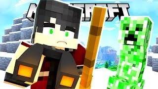 EXPLORING NEW LAND!! THIS WAS NOT EXPECTED...   Krewcraft Minecraft Survival   Episode 3