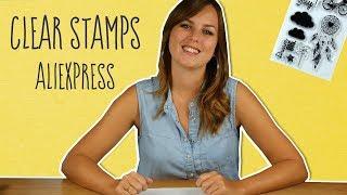 Clear Stamps van AliExpress uittesten - CreaChick