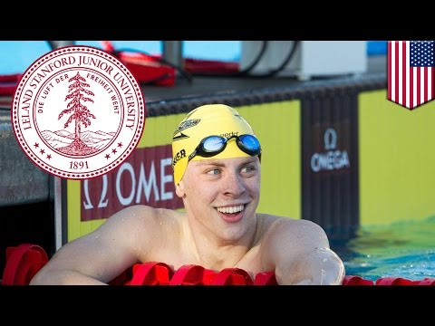 Stanford Swimming Star Brock Turner Rapes Drunk, Unconscious Woman On The Ground video