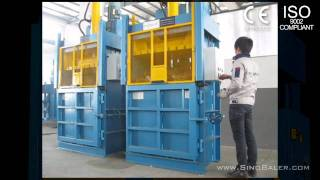 [SINOBALER - Mill Size Balers, Carton & Cardboard Compactor, ...] Video